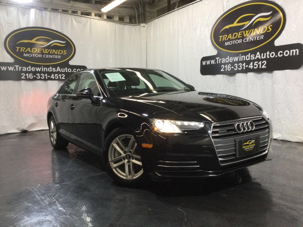 2017 AUDI A4 PREMIUM for sale at Tradewinds Motor Center