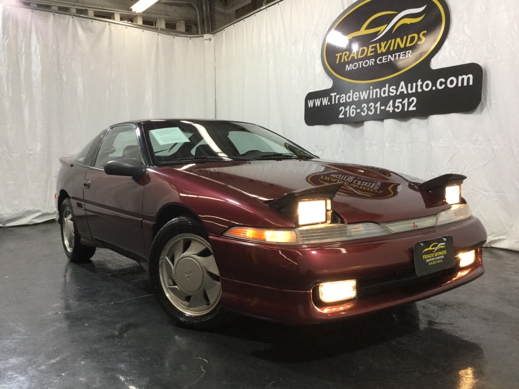 1991 MITSUBISHI ECLIPSE GS TURBO for sale at Tradewinds Motor Center