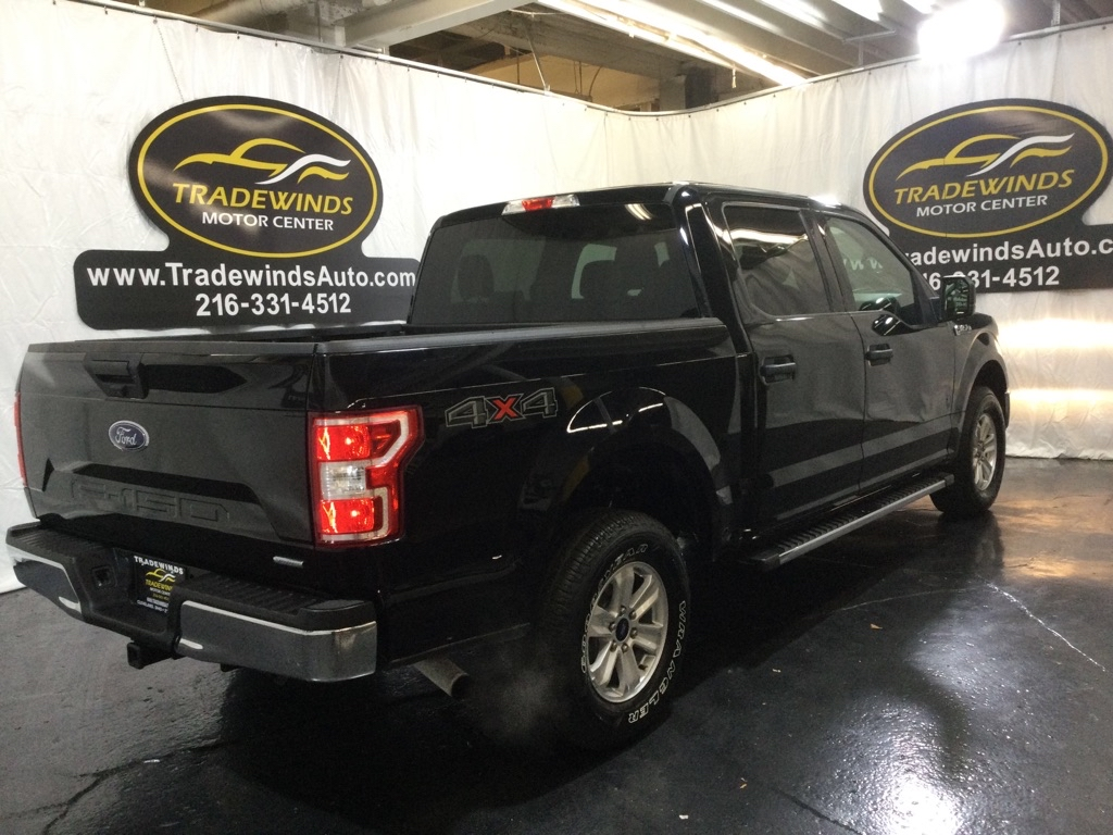 2018 FORD F150 SUPERCREW XLT for sale at Tradewinds Motor Center