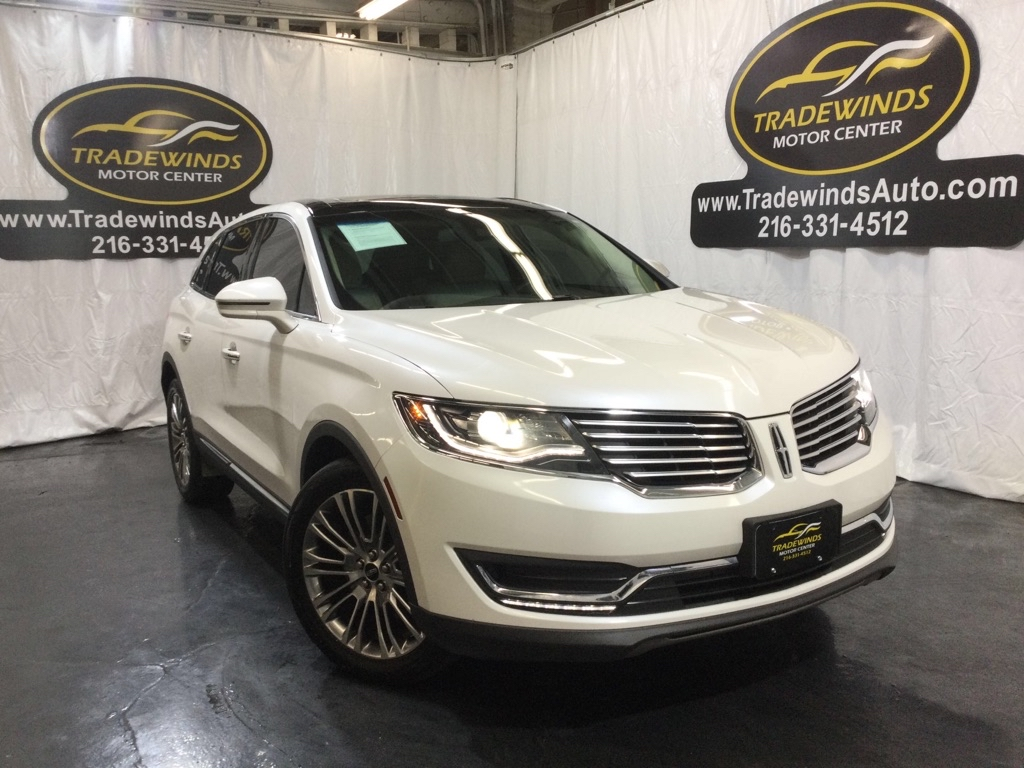 2016 LINCOLN MKX RESERVE for sale at Tradewinds Motor Center