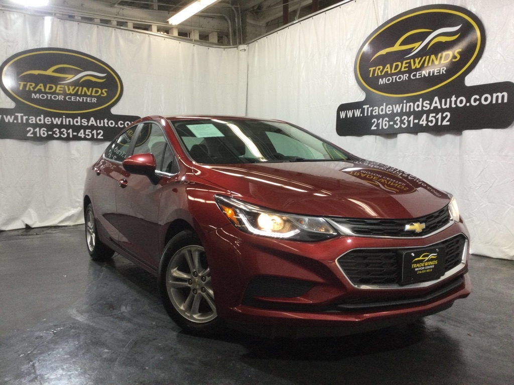 2017 CHEVROLET CRUZE LT for sale at Tradewinds Motor Center
