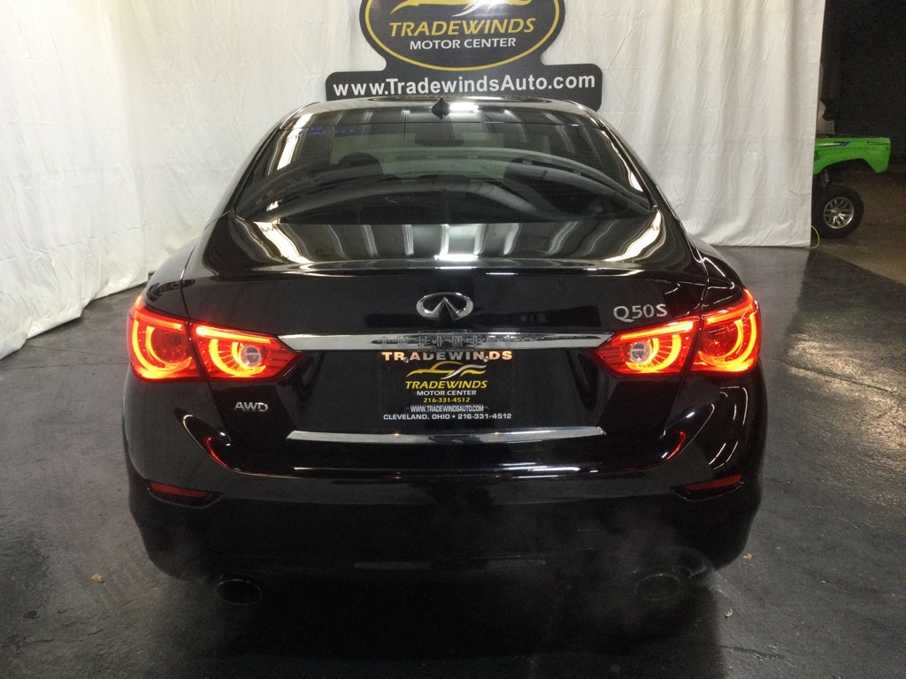 2016 INFINITI Q50 SPORT for sale at Tradewinds Motor Center