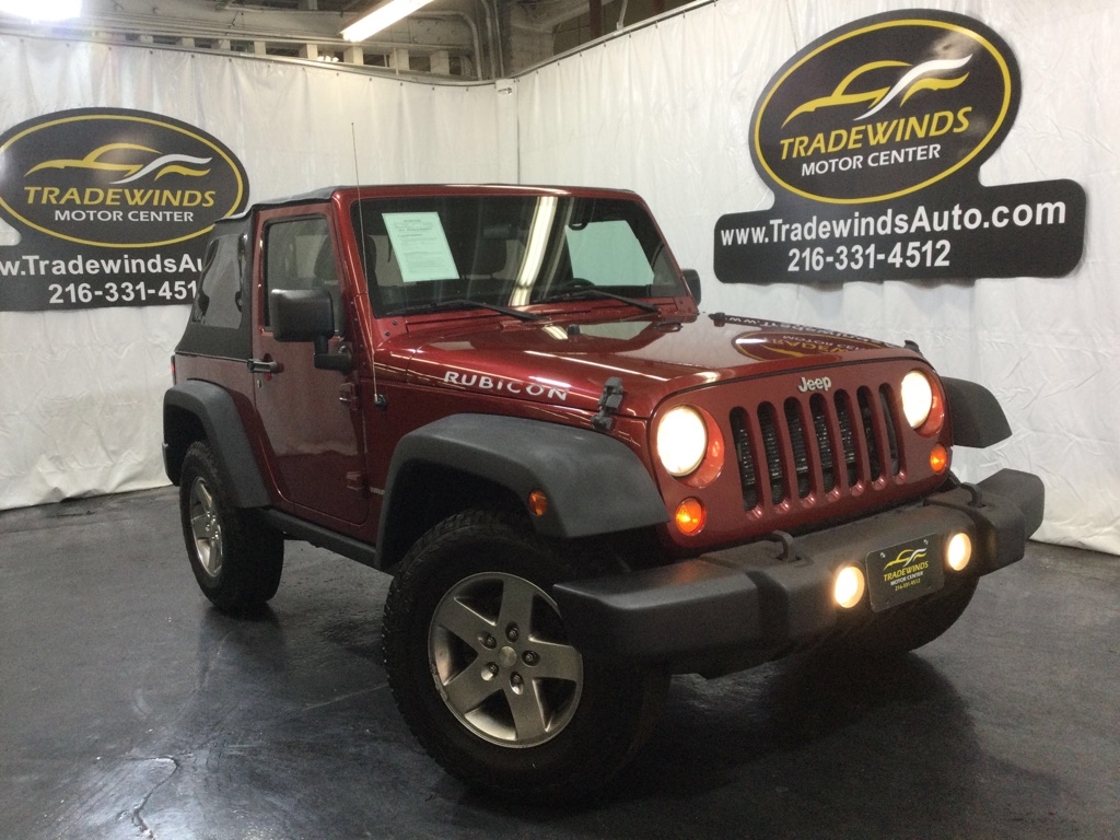 2012 JEEP WRANGLER RUBICON for sale at Tradewinds Motor Center