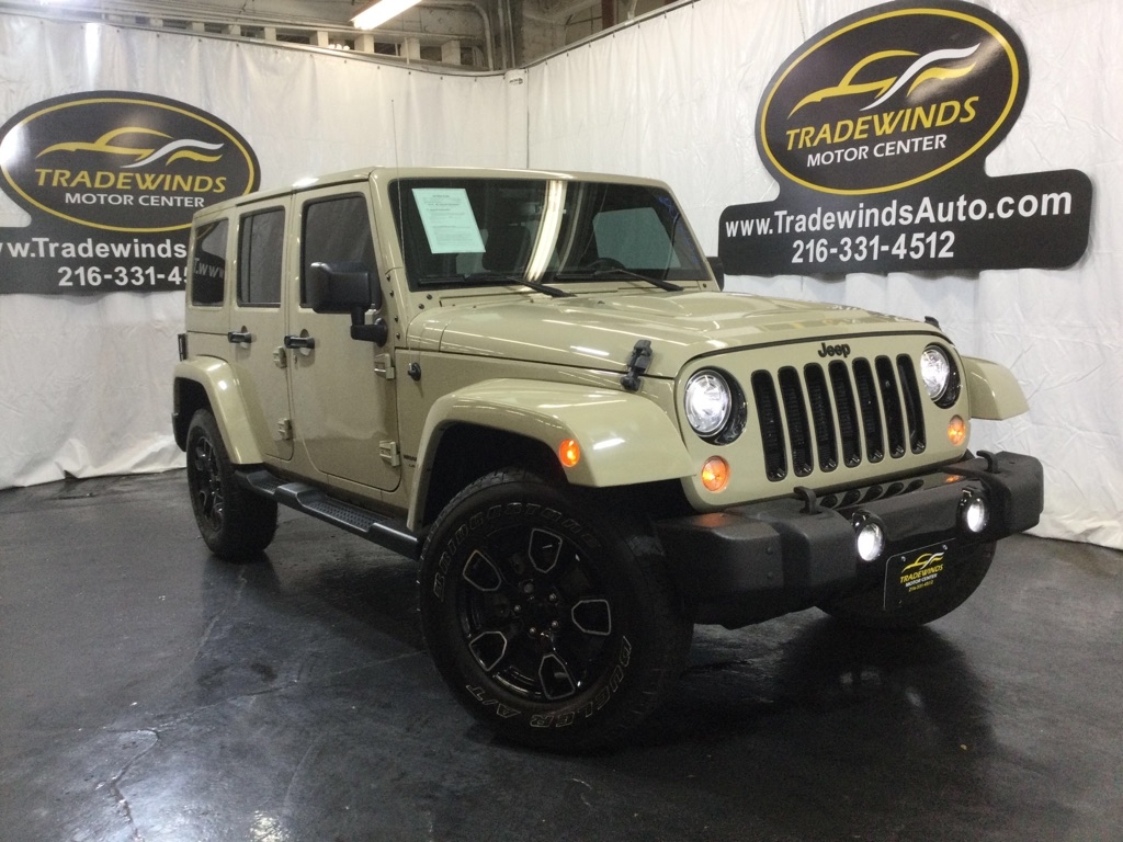 2018 JEEP WRANGLER UNLIMI SAHARA for sale at Tradewinds Motor Center