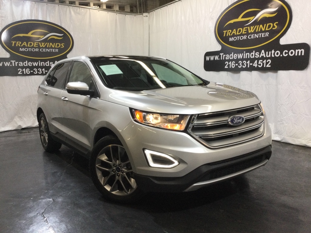 2015 FORD EDGE TITANIUM for sale at Tradewinds Motor Center