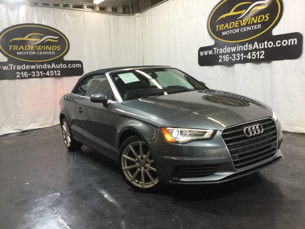 2015 AUDI A3 PREMIUM PLUS for sale at Tradewinds Motor Center