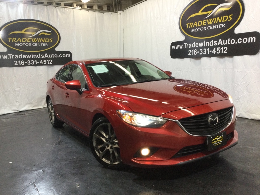 2015 MAZDA 6 GRAND TOURING for sale at Tradewinds Motor Center