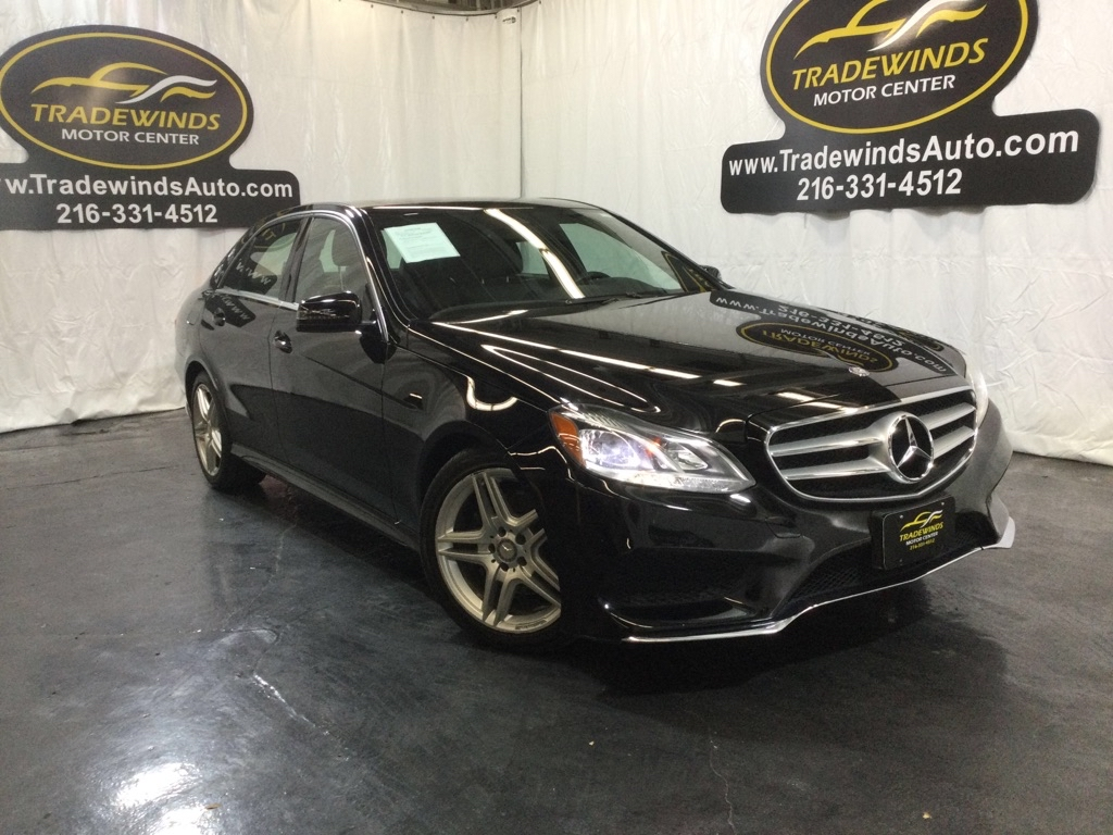 2014 MERCEDES-BENZ E-CLASS E350 4MATIC for sale at Tradewinds Motor Center