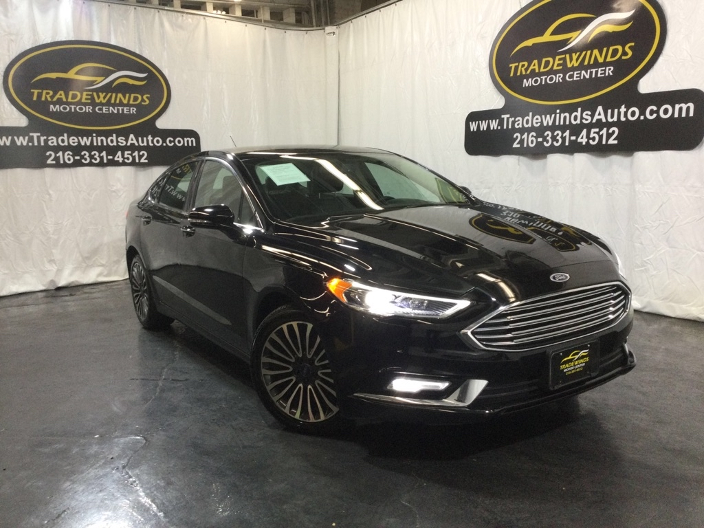 2017 FORD FUSION TITANIUM for sale at Tradewinds Motor Center