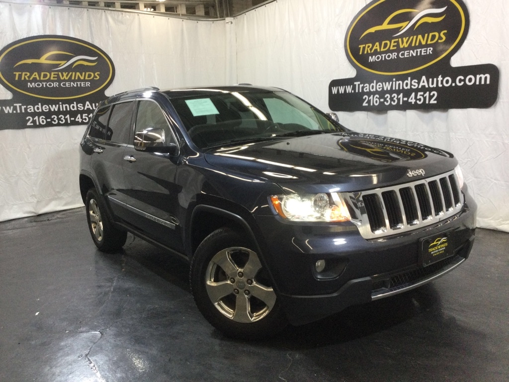 2013 JEEP GRAND CHEROKEE LIMITED for sale at Tradewinds Motor Center