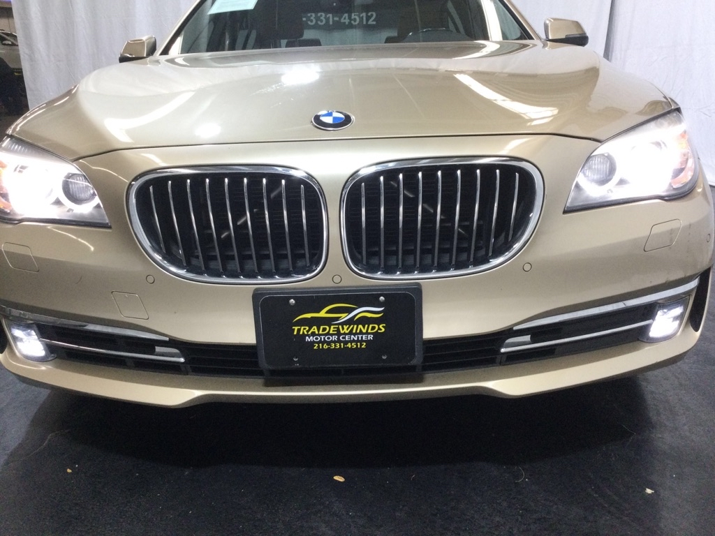 2014 BMW 740 LI for sale at Tradewinds Motor Center