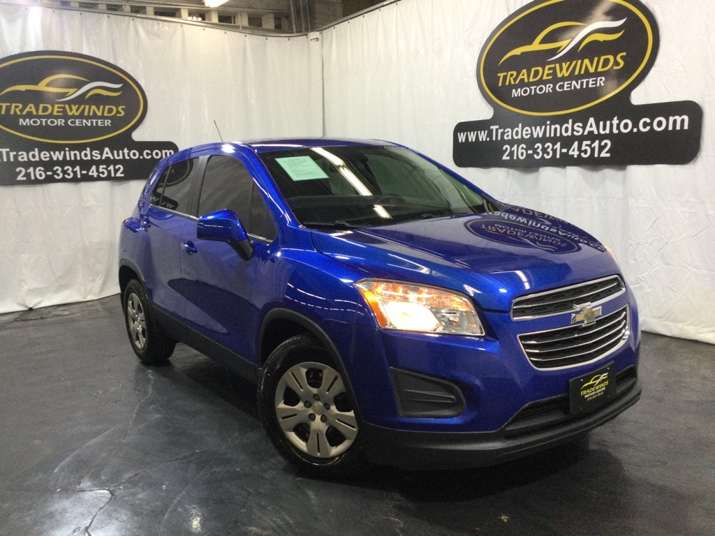 2016 CHEVROLET TRAX LS for sale at Tradewinds Motor Center