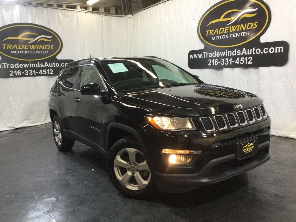 2018 JEEP COMPASS LATITUDE for sale at Tradewinds Motor Center