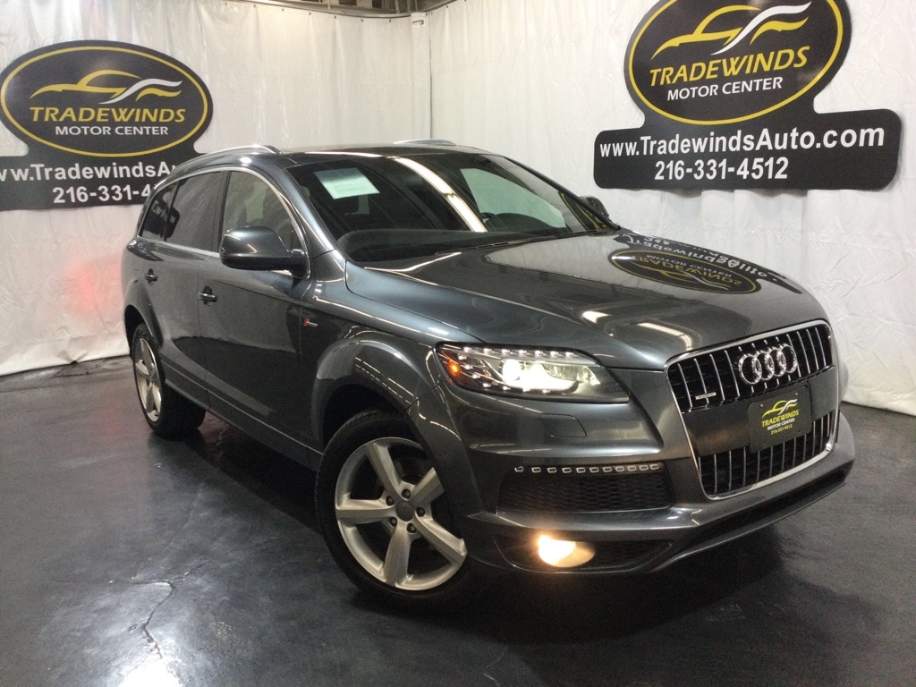 2014 AUDI Q7 PRESTIGE for sale at Tradewinds Motor Center