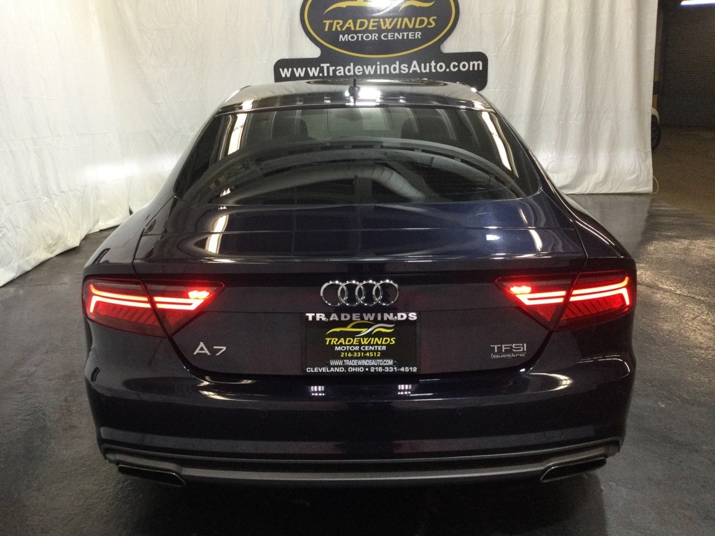 2016 AUDI A7 PREMIUM PLUS for sale at Tradewinds Motor Center