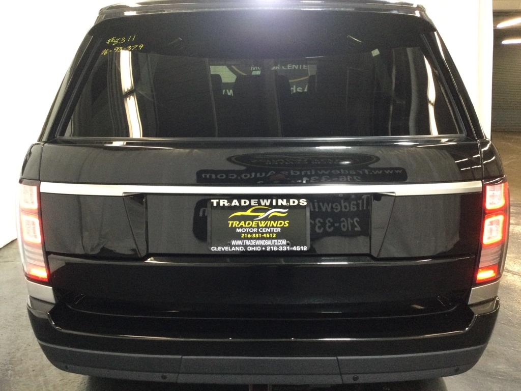 2016 LAND ROVER RANGE ROVER HSE for sale at Tradewinds Motor Center