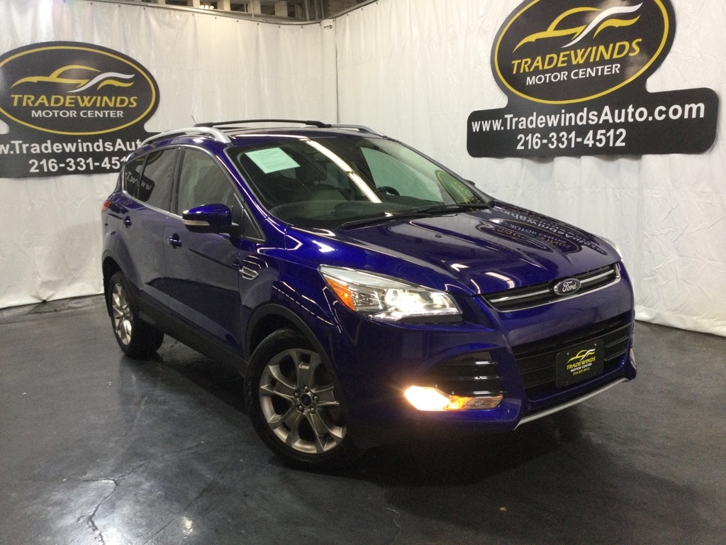 2014 FORD ESCAPE TITANIUM for sale at Tradewinds Motor Center