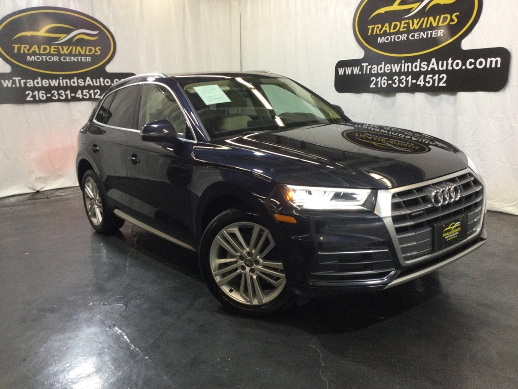 2018 AUDI Q5 PREMIUM PLUS for sale at Tradewinds Motor Center