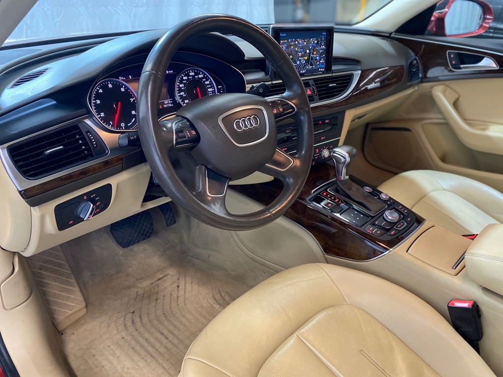 2014 AUDI A6 PREMIUM PLUS for sale at Tradewinds Motor Center