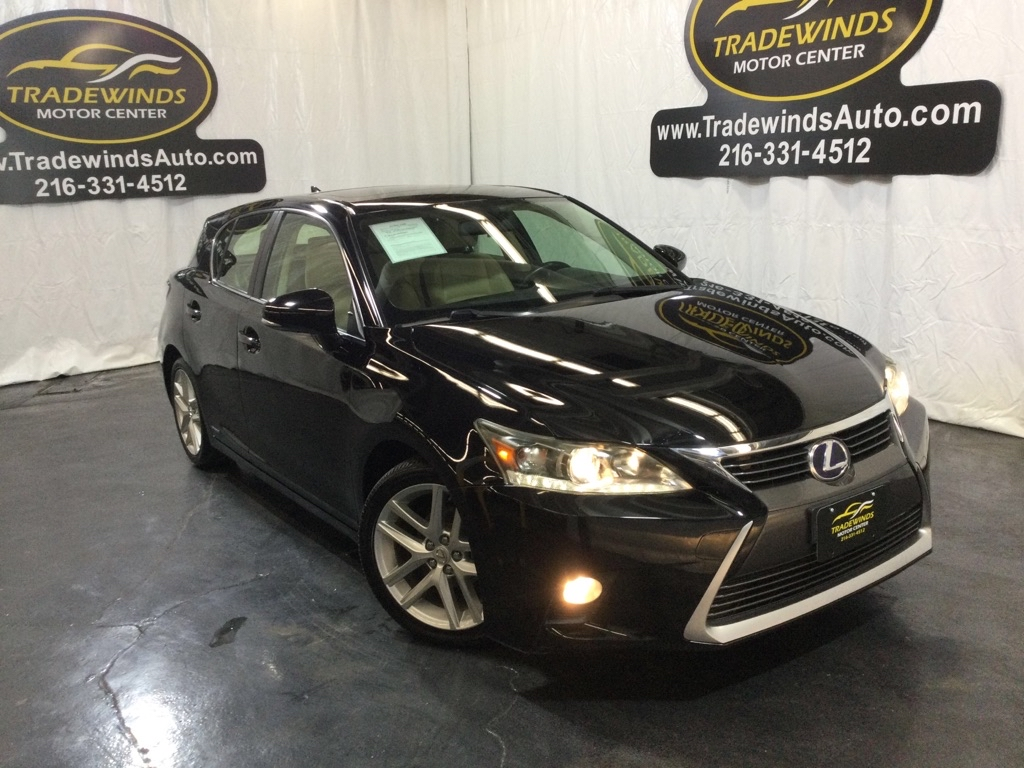 2014 LEXUS CT 200 for sale at Tradewinds Motor Center