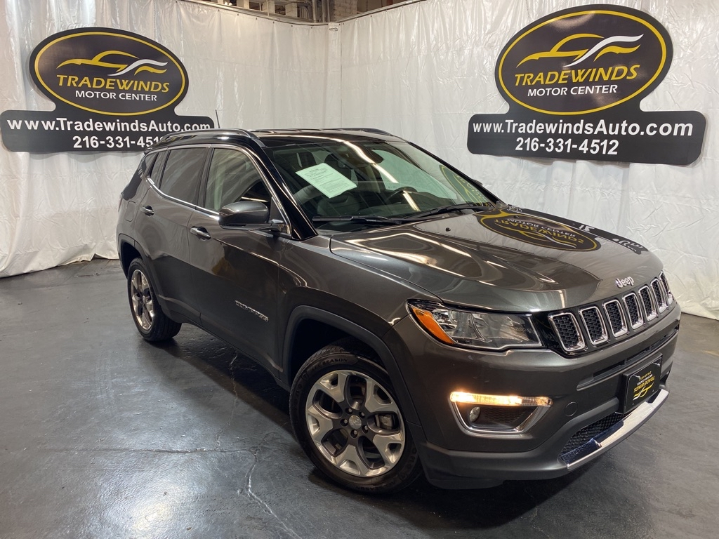 2020 JEEP COMPASS LIMITED for sale at Tradewinds Motor Center