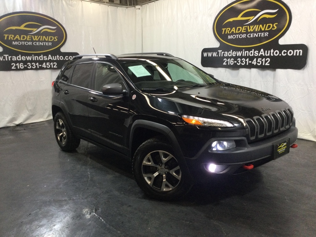 2014 JEEP CHEROKEE TRAILHAWK for sale at Tradewinds Motor Center