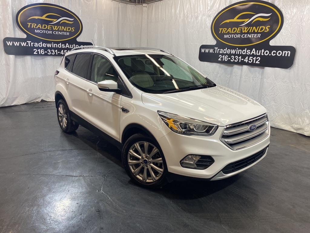 2017 FORD ESCAPE TITANIUM for sale at Tradewinds Motor Center