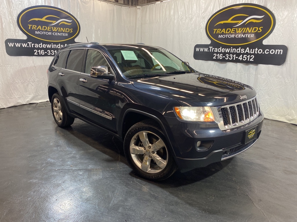 2013 JEEP GRAND CHEROKEE OVERLAND for sale at Tradewinds Motor Center