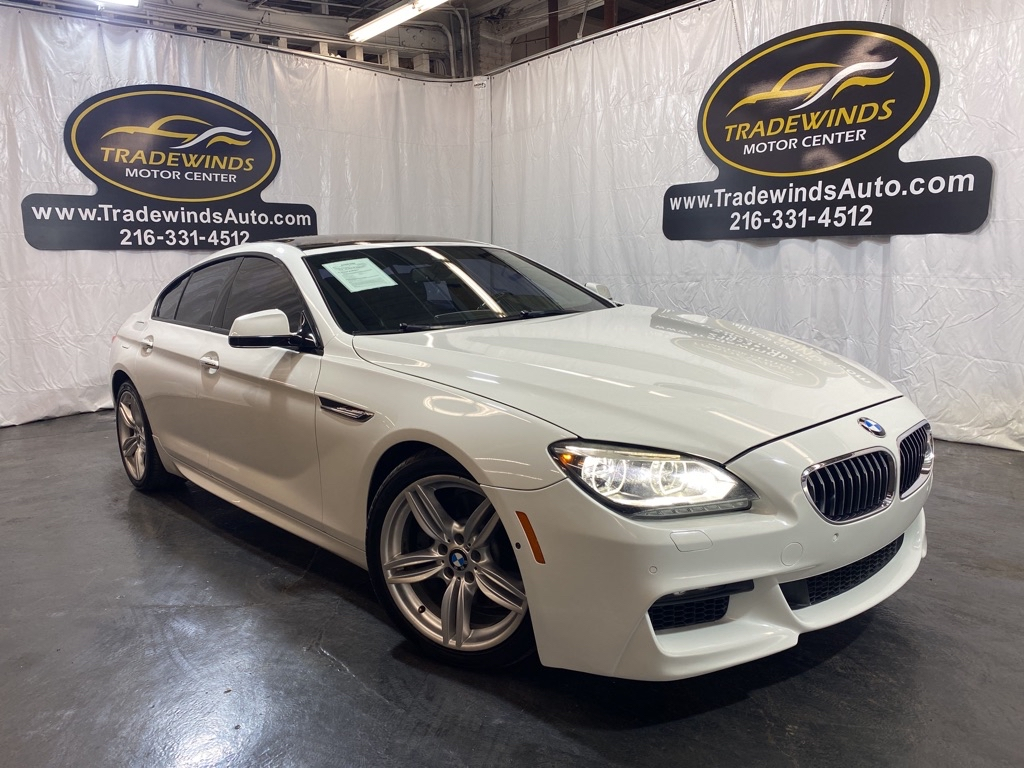 2015 BMW 640 I GRAN COUPE M PKG for sale at Tradewinds Motor Center