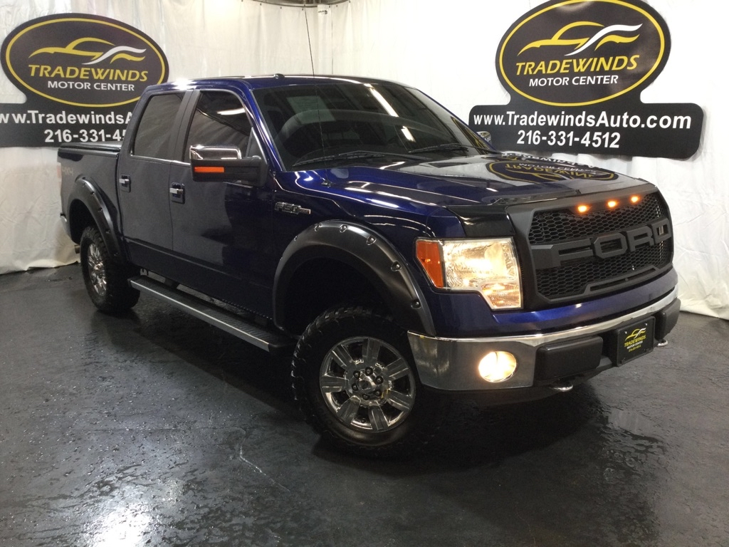 2011 FORD F150 SUPERCREW LARIAT for sale at Tradewinds Motor Center