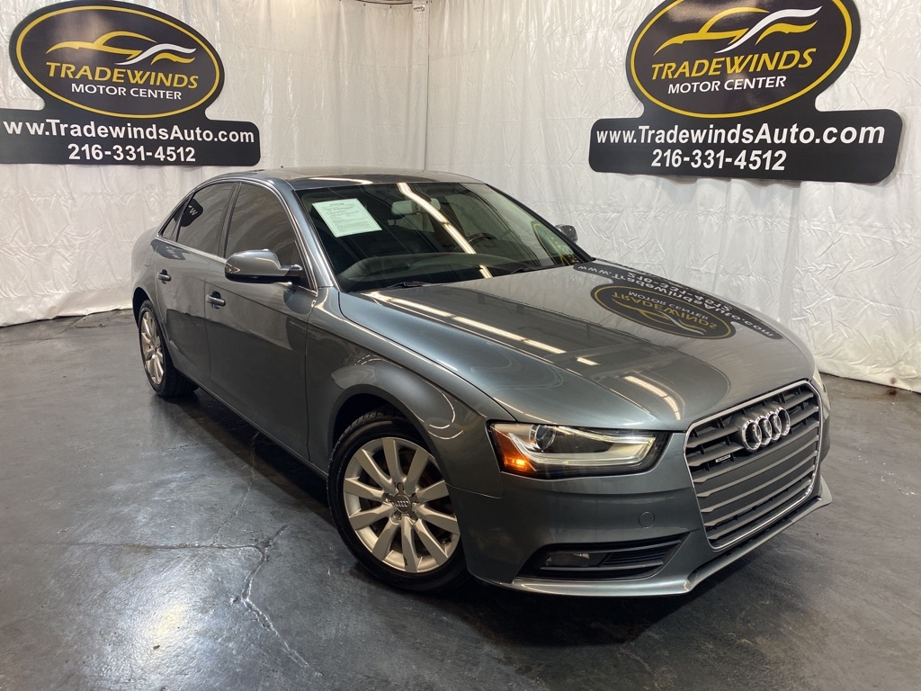 2013 AUDI A4 PREMIUM for sale at Tradewinds Motor Center