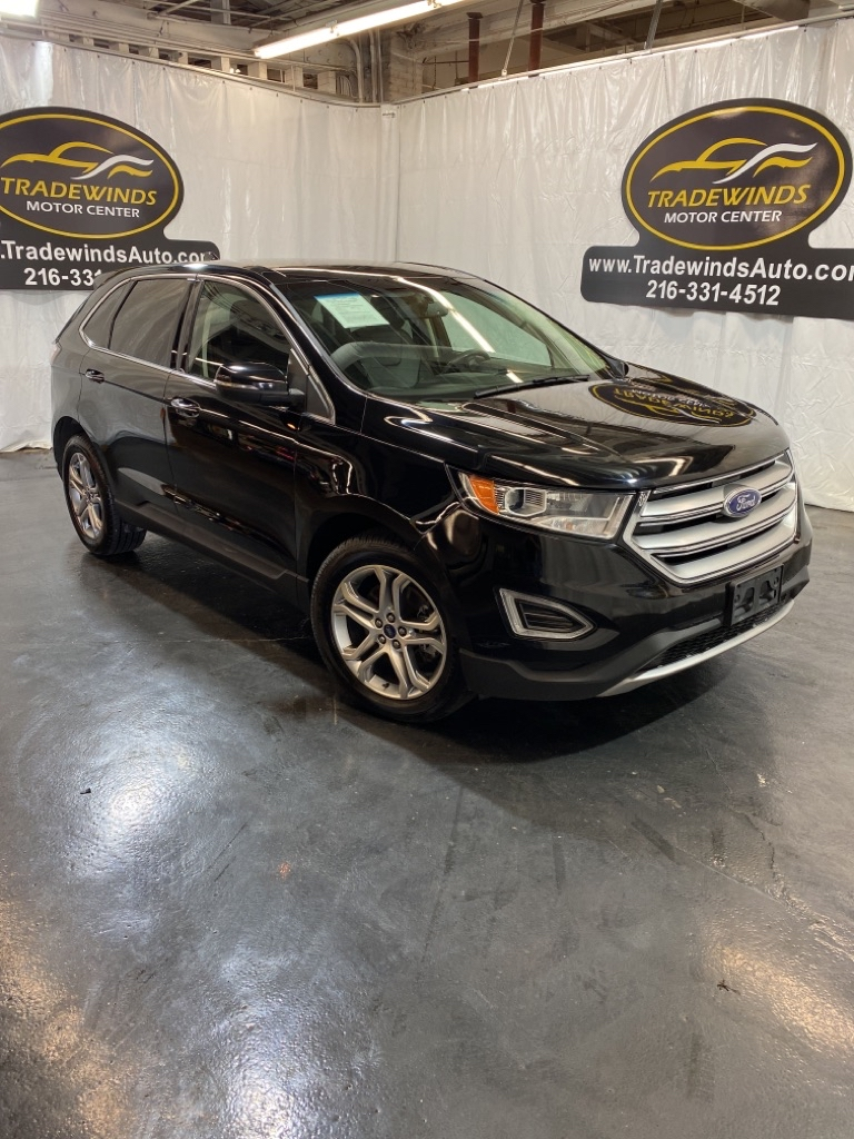 2016 FORD EDGE TITANIUM for sale at Tradewinds Motor Center