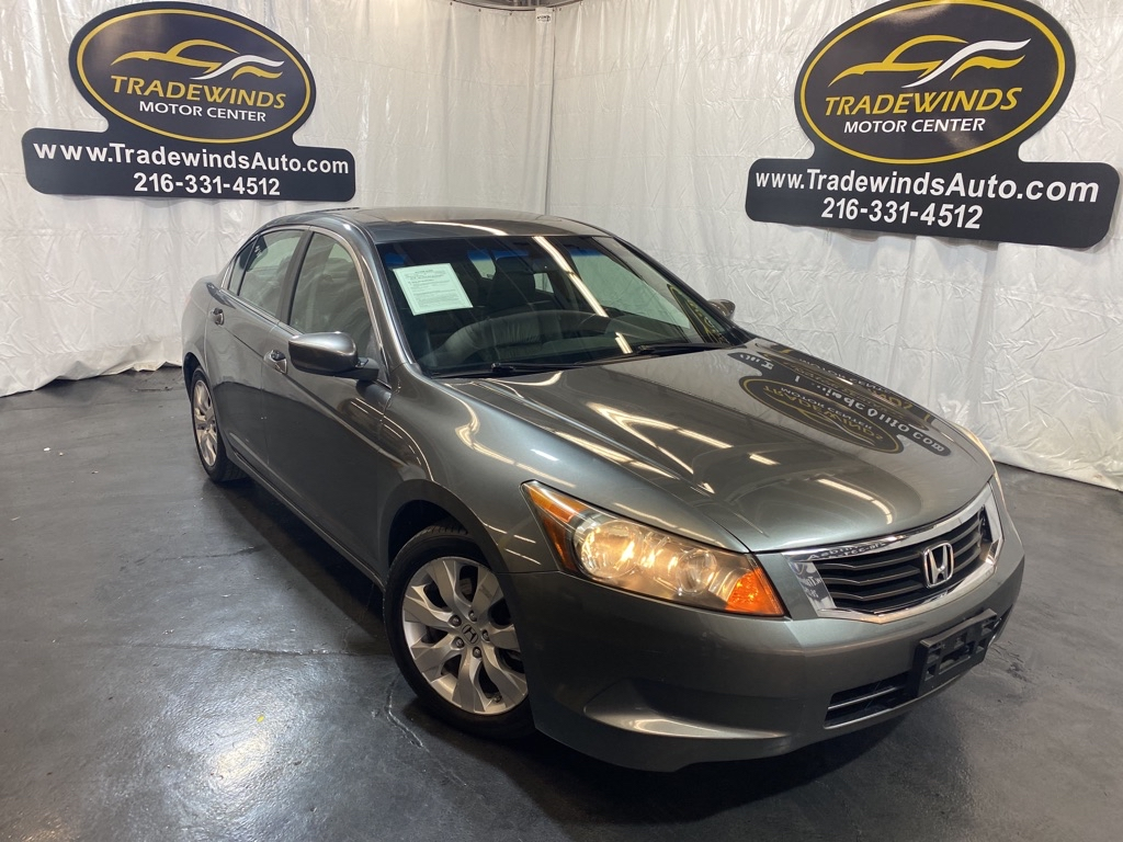 2009 HONDA ACCORD EXL for sale at Tradewinds Motor Center