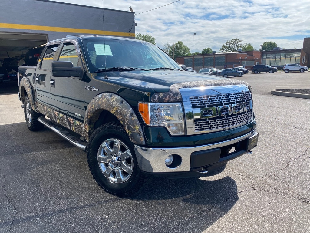 2013 FORD F150 XLT SUPERCREW for sale at Tradewinds Motor Center