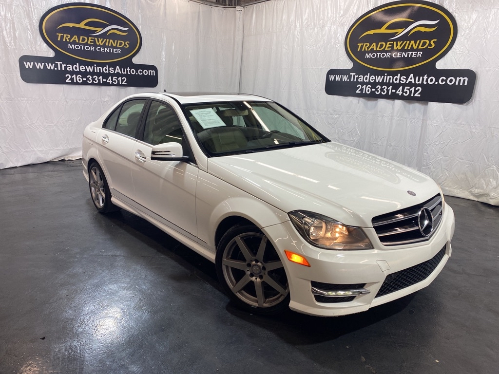2014 MERCEDES-BENZ C-CLASS C250 for sale at Tradewinds Motor Center