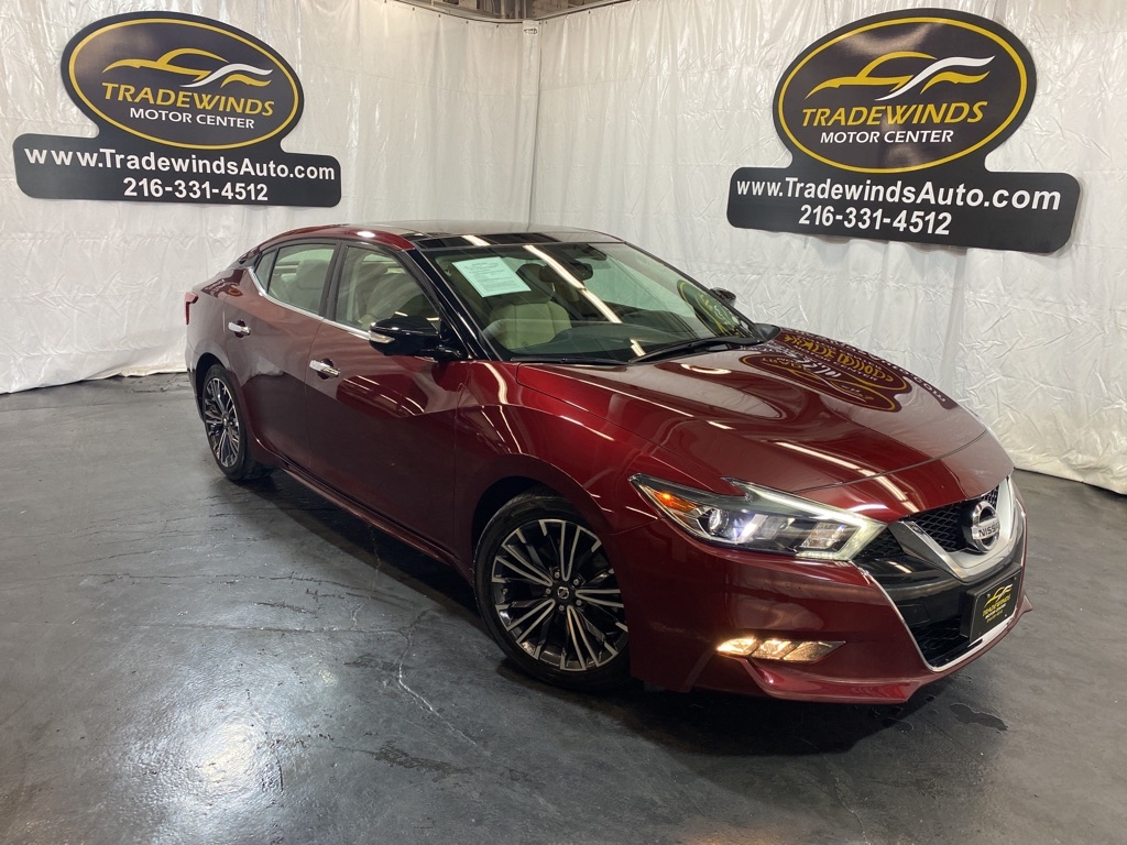 2017 NISSAN MAXIMA 3.5 PLATINUM for sale at Tradewinds Motor Center