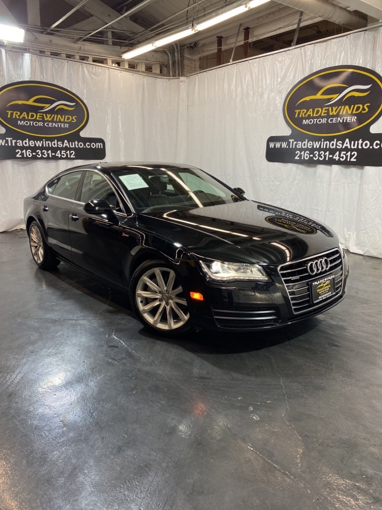 2014 AUDI A7 PREMIUM PLUS for sale at Tradewinds Motor Center