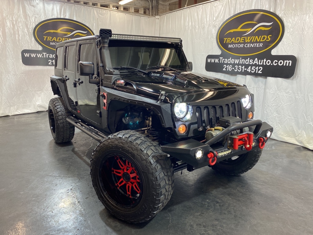 2016 JEEP WRANGLER UNLIMI RIPP SUPERCHARGED for sale at Tradewinds Motor Center