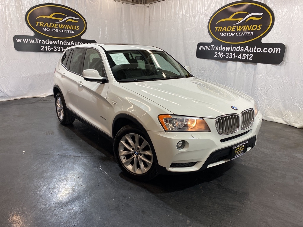 2013 BMW X3 XDRIVE28I for sale at Tradewinds Motor Center