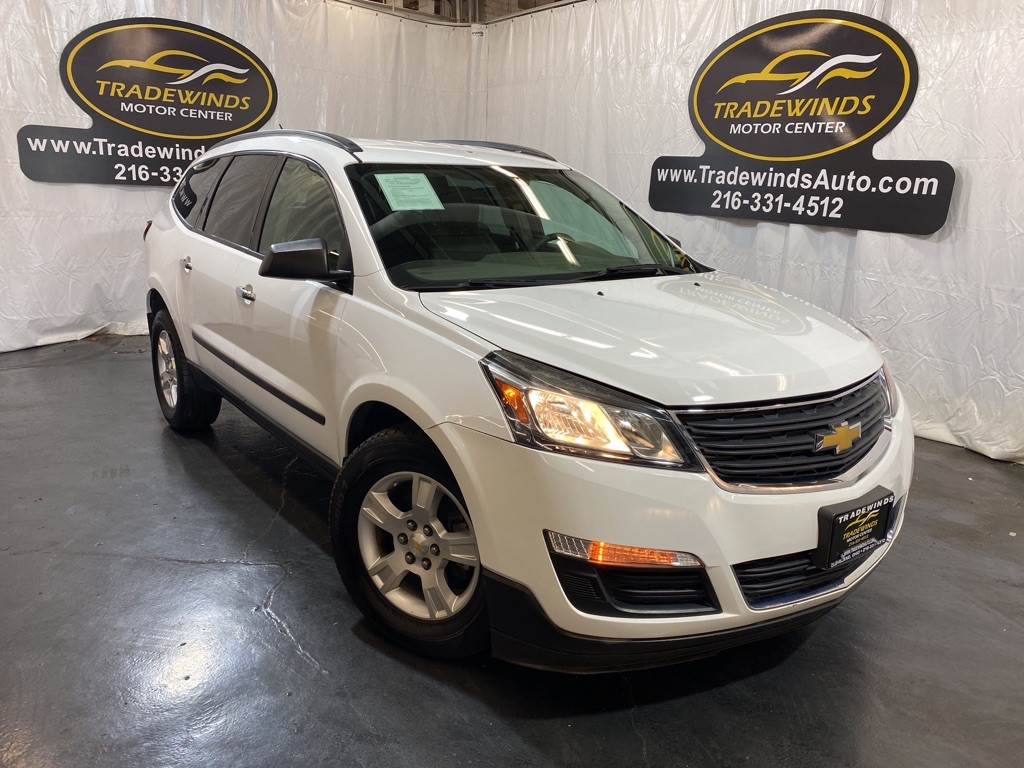 2016 CHEVROLET TRAVERSE LS for sale at Tradewinds Motor Center