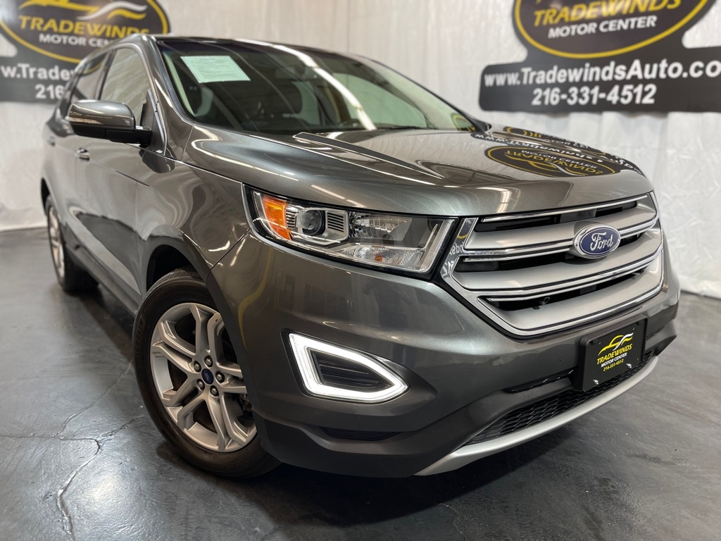 2017 FORD EDGE TITANIUM for sale at Tradewinds Motor Center