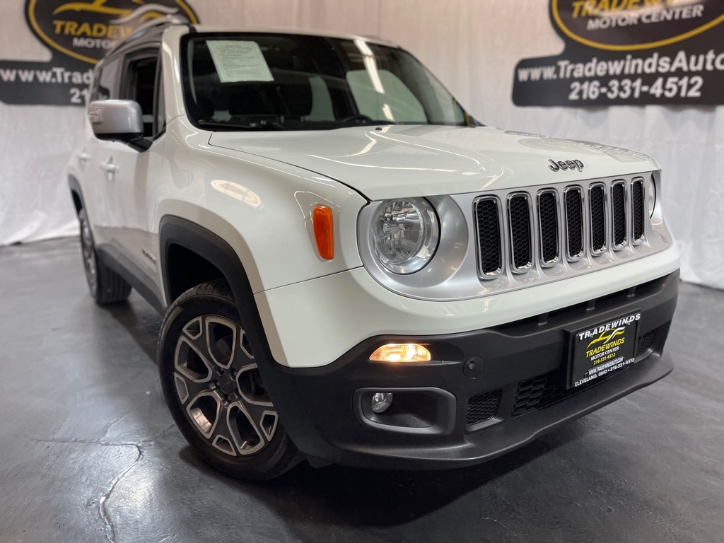 2016 JEEP RENEGADE LIMITED for sale at Tradewinds Motor Center