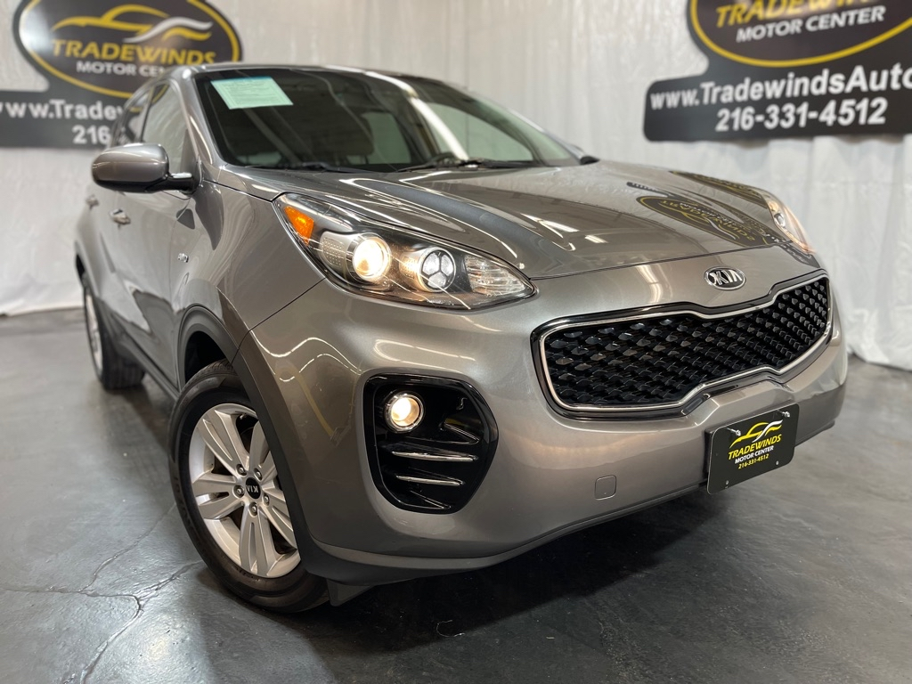2017 KIA SPORTAGE LX for sale at Tradewinds Motor Center
