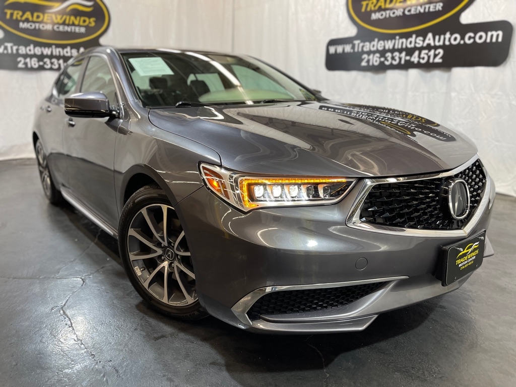 2018 ACURA TLX TECH for sale at Tradewinds Motor Center