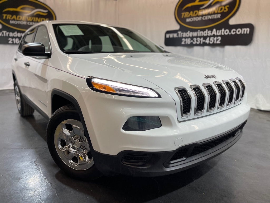 2014 JEEP CHEROKEE SPORT for sale at Tradewinds Motor Center