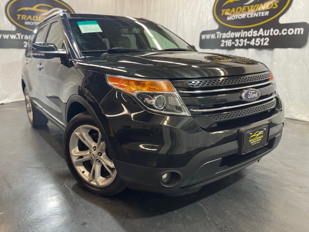 2015 FORD EXPLORER LIMITED for sale at Tradewinds Motor Center