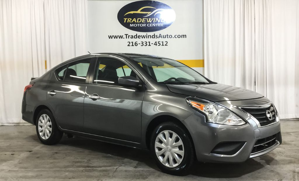 2018 NISSAN VERSA SV for sale at Tradewinds Motor Center