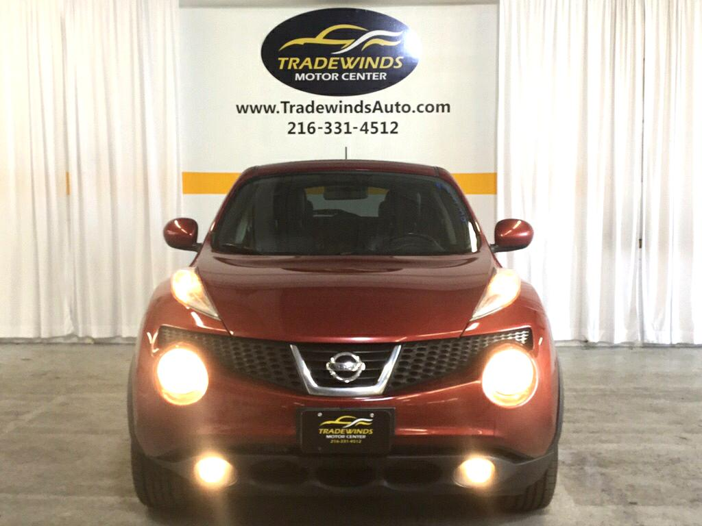 2012 NISSAN JUKE SL for sale at Tradewinds Motor Center