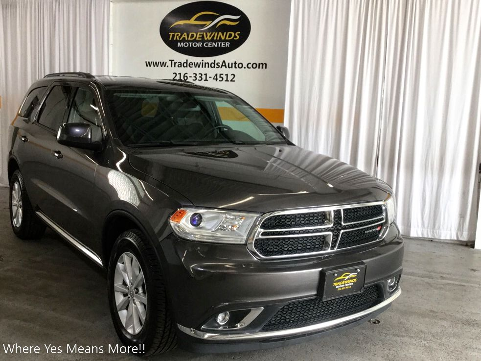 2014 DODGE DURANGO SXT for sale at Tradewinds Motor Center