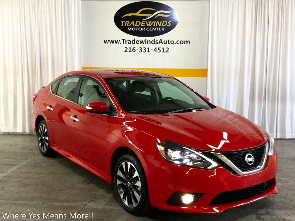 2019 NISSAN SENTRA SR for sale at Tradewinds Motor Center